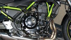 Kawasaki Z 650 2020:: il motore eroga 68 Cv e 64 Nm
