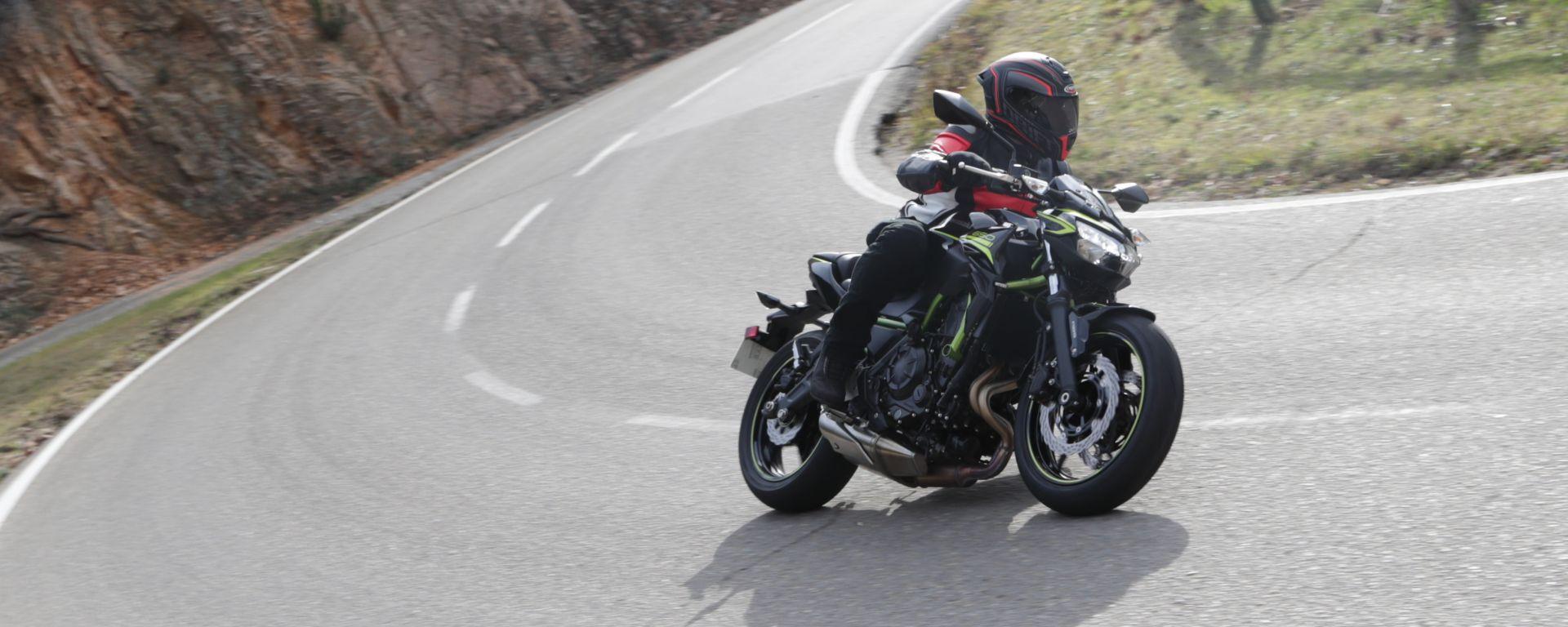 Kawasaki Z 650 2020: la prova su strada