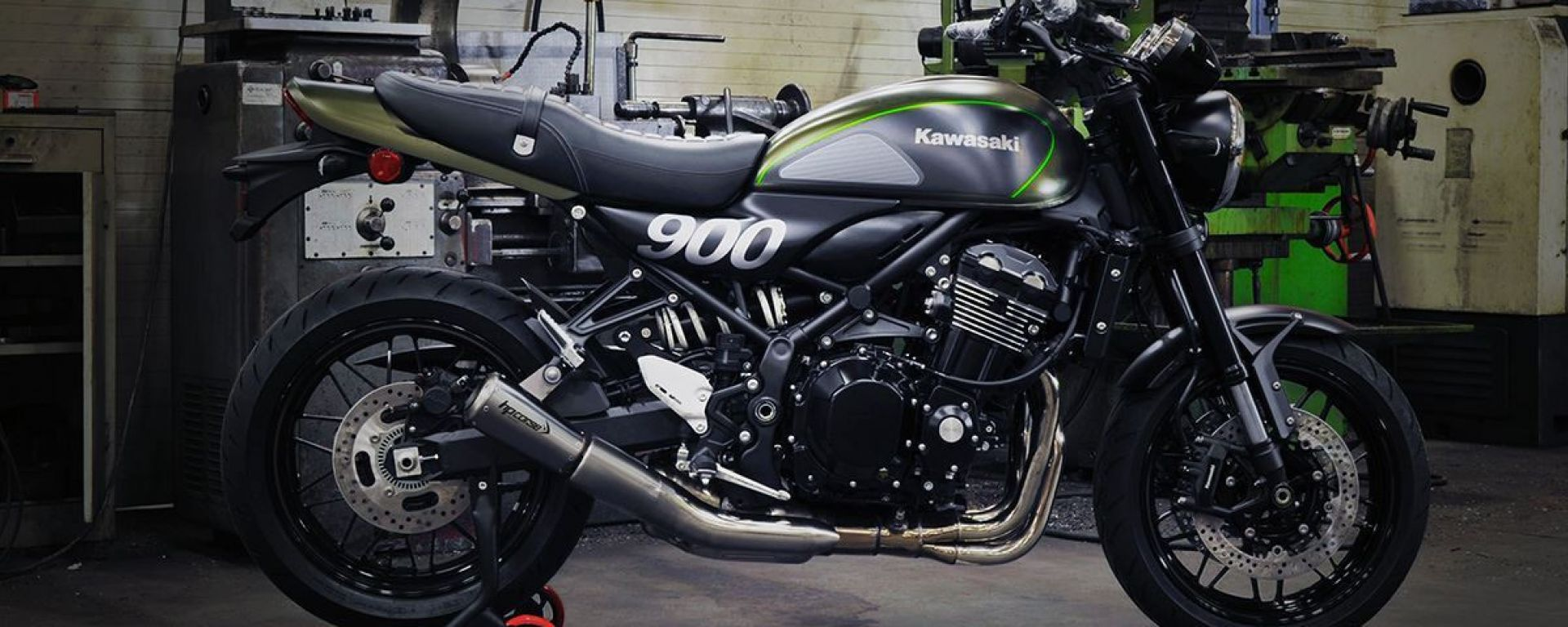 Kawasaki Z900RS: più voce alla modern classic con HP Corse