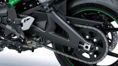 Kawasaki Z H2 2020: dettaglio del forcellone