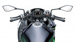 Kawasaki Z H2 2020: dettaglio del ponte di comando