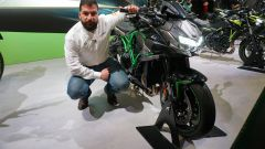 Kawasaki Z H2: la nuda da 200 cv in video da Eicma 2019 - Immagine: 2
