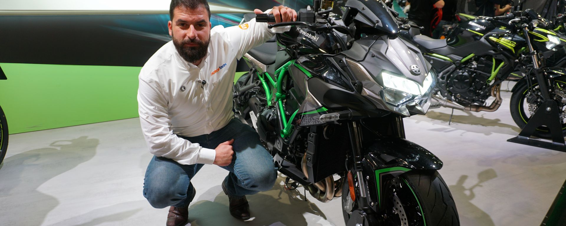 Kawasaki Z H2: la nuda da 200 cv in video da Eicma 2019