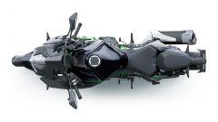 Kawasaki Z H2 2020: vista dall'alto