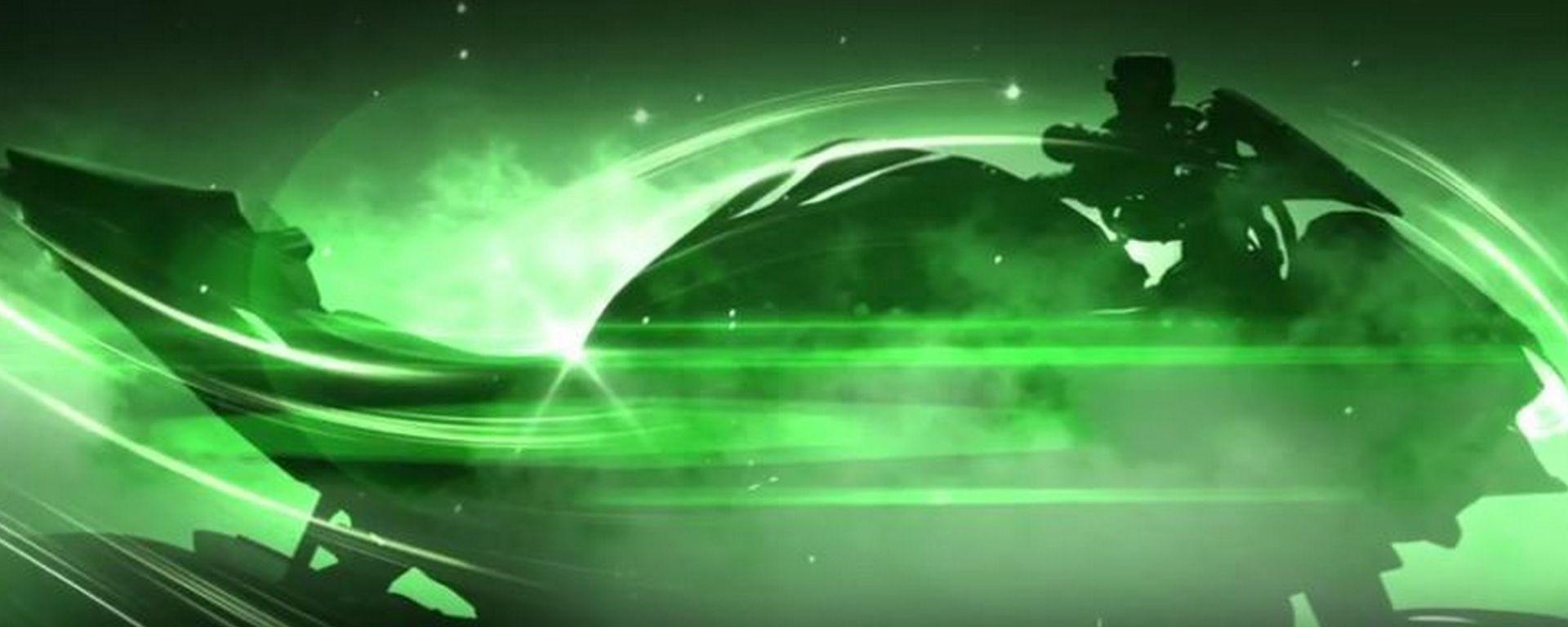 Kawasaki Z H2 Supercharge, un fotogramma del terzo video teaser