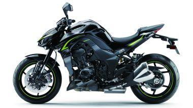 Kawasaki Z1000 lato sinistro