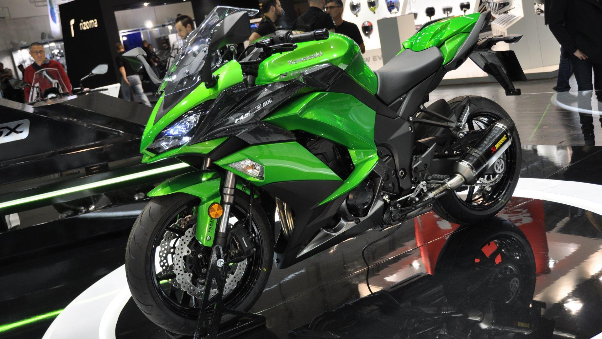 Intermot 2016: Kawasaki Z1000SX 2017, la sport tourer si ...