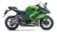 Kawasaki Z1000SX 2017, verde Kawa
