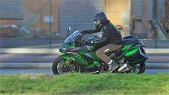 Kawasaki Z1000SX Tourer 2019: buono il comfort in sella