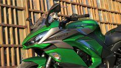 Kawasaki Z1000SX Tourer 2019: dettaglio del cupolino