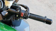 Kawasaki Z1000SX Tourer 2019: il blocchetto elettrico destro