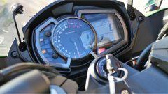 Kawasaki Z1000SX Tourer 2019: il quadro strumenti