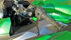 Kawasaki Z1000SX Tourer 2019: la leva frizione regolabile