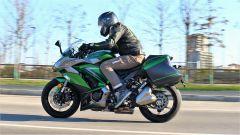 Kawasaki Z1000SX Tourer 2019: la posizione in sella
