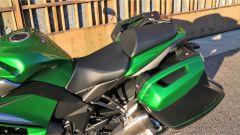 Kawasaki Z1000SX Tourer 2019: la sella