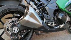 Kawasaki Z1000SX Tourer 2019: lo scarico