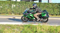 Kawasaki Z1000SX Tourer 2019: un momento del test ride