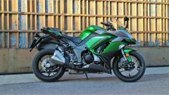 Kawasaki Z1000SX Tourer 2019: vista lato destro