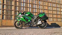 Kawasaki Z1000SX Tourer 2019: vista lato sinistro