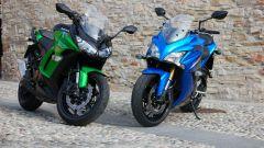 Kawasaki Z1000SX vs Suzuki GSX-S1000F - Immagine: 3