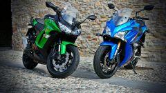 Kawasaki Z1000SX vs Suzuki GSX-S1000F - Immagine: 1