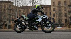 Kawasaki Z125 2019: la prova su strada con la piccola naked  - Immagine: 26