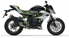 Kawasaki Z125 2021: visuale laterale