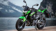 Kawasaki Z400: la nuda che piace ai giovani. Prova su strada - Immagine: 19