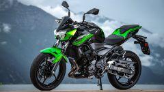 Kawasaki Z400: la nuda che piace ai giovani. Prova su strada - Immagine: 21