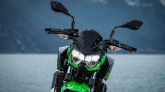 Kawasaki Z400: la nuda che piace ai giovani. Prova su strada - Immagine: 22