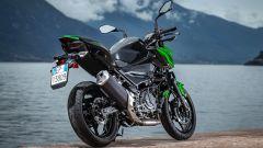 Kawasaki Z400: la nuda che piace ai giovani. Prova su strada - Immagine: 24