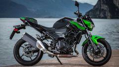 Kawasaki Z400: la nuda che piace ai giovani. Prova su strada - Immagine: 25