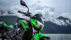 Kawasaki Z400: la nuda che piace ai giovani. Prova su strada - Immagine: 33