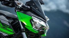 Kawasaki Z400: la nuda che piace ai giovani. Prova su strada - Immagine: 34