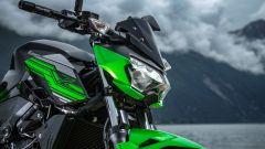Kawasaki Z400: la nuda che piace ai giovani. Prova su strada - Immagine: 35