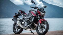 Kawasaki Z400: la nuda che piace ai giovani. Prova su strada - Immagine: 27