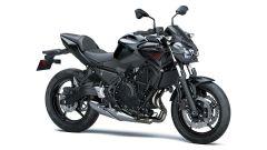 Kawasaki Z650 2021 Metallic Spark Black / Metallic Flat Spark Black