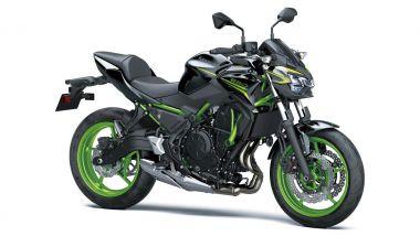 Kawasaki Z650 2021 Metallic Spark Black