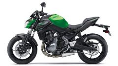 kawasaki Z650 Candy Flat Blazed Green