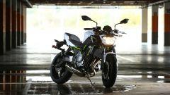 Kawasaki Z650, garage