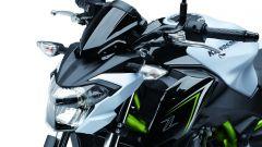 Kawasaki Z650: il gruppo ottico anteriore