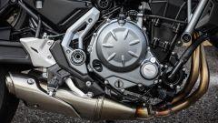 Kawasaki Z650: il motore