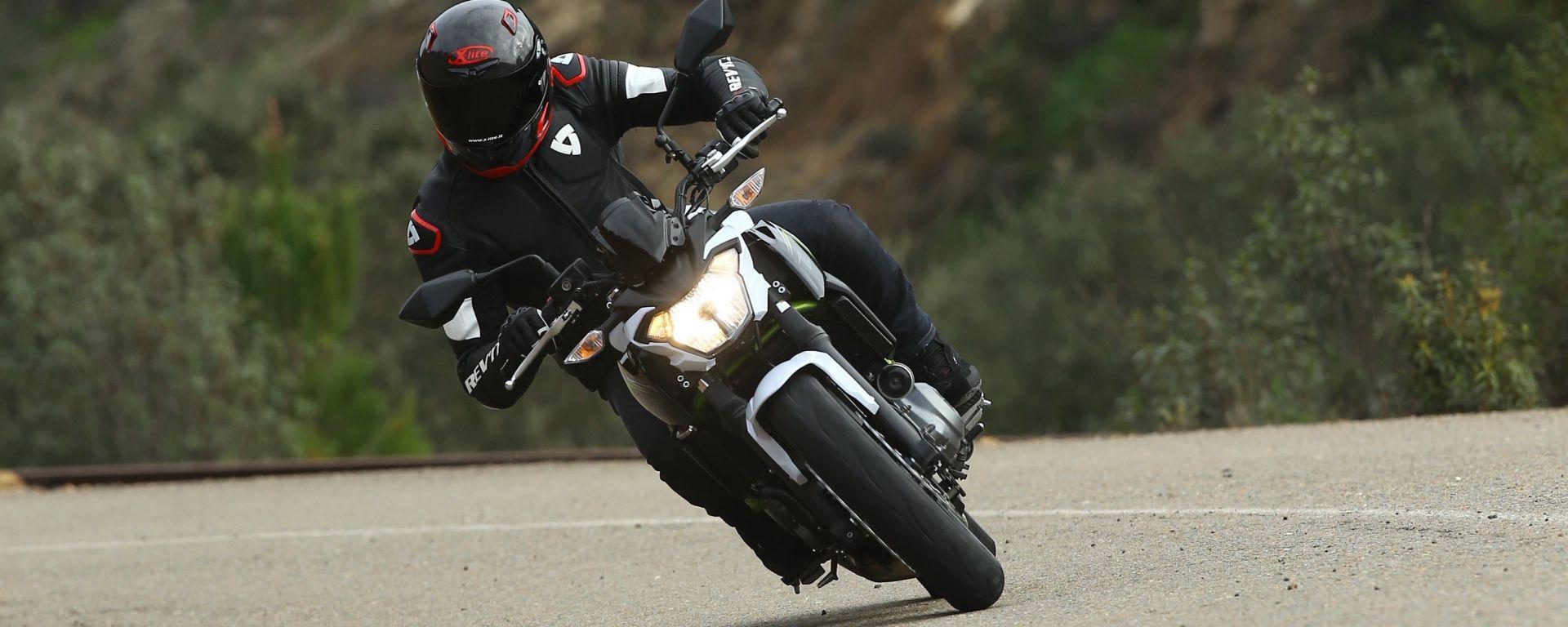Nuova Kawasaki Z650: prova, prezzo, caratteristiche. Guarda il video
