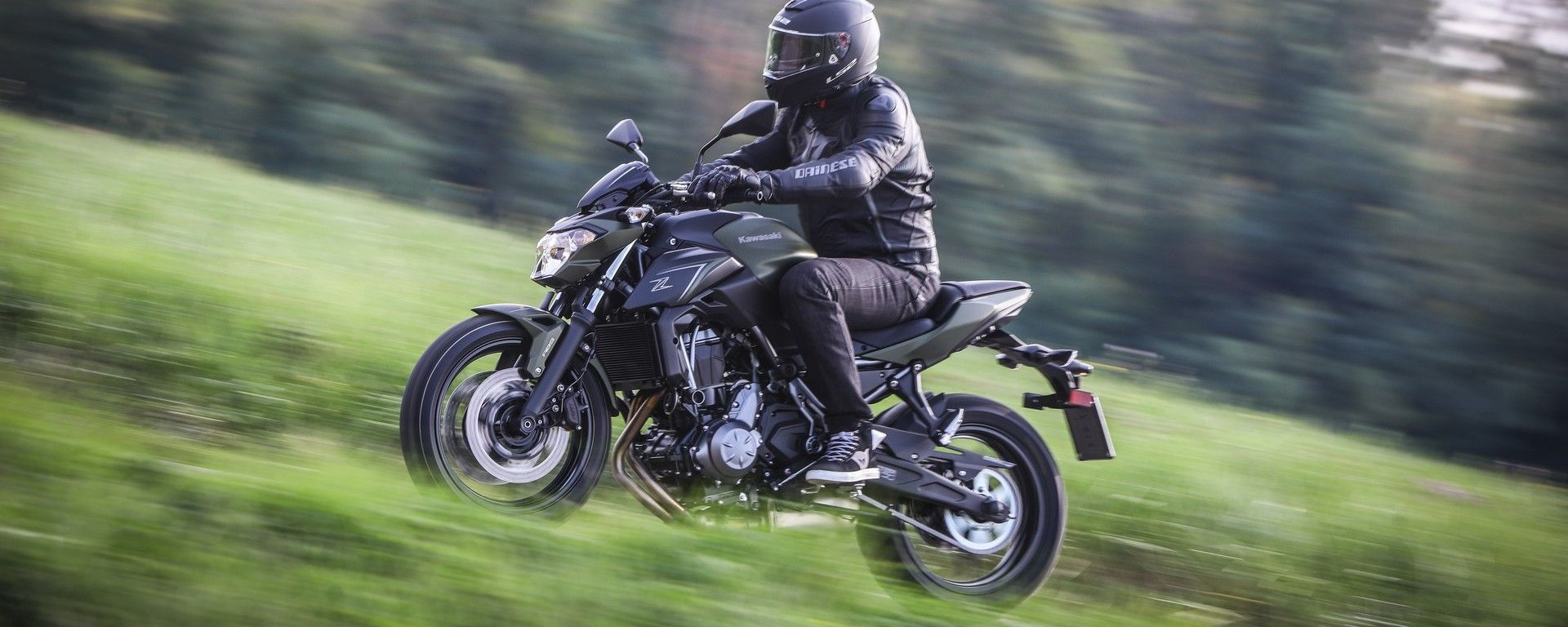 Kawasaki Z650: la prova su strada
