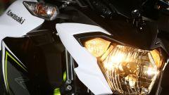 Kawasaki Z650, luce accesa