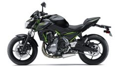kawasaki Z650 Metallic Flat Spark Black