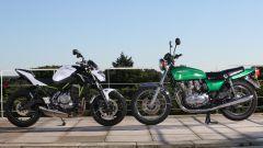 Kawasaki Z650, nuova e vecchia