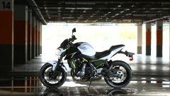 Kawasaki Z650, park sotterraneo