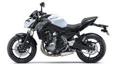 Kawasaki Z650 Pearl Flat Stardust White