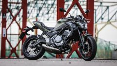 Kawasaki Z650: vista 3/4 anteriore